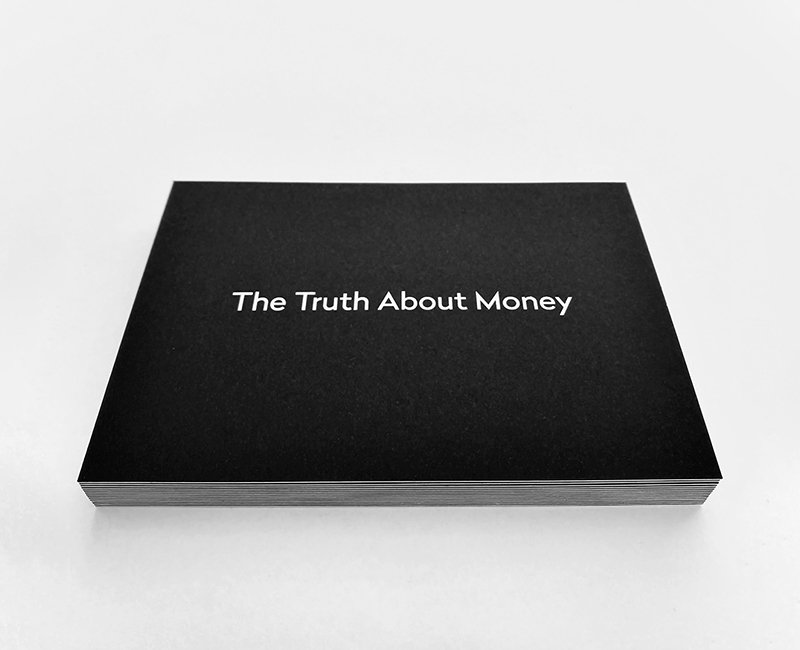 The Alternative Adviser Postcard Design for financial planner