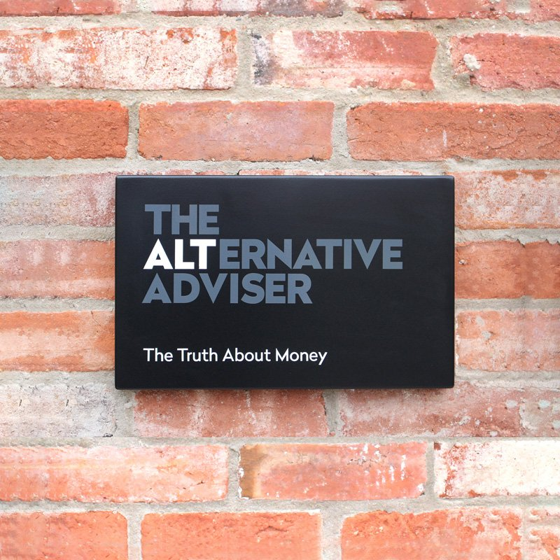 Alternative Adviser sign design