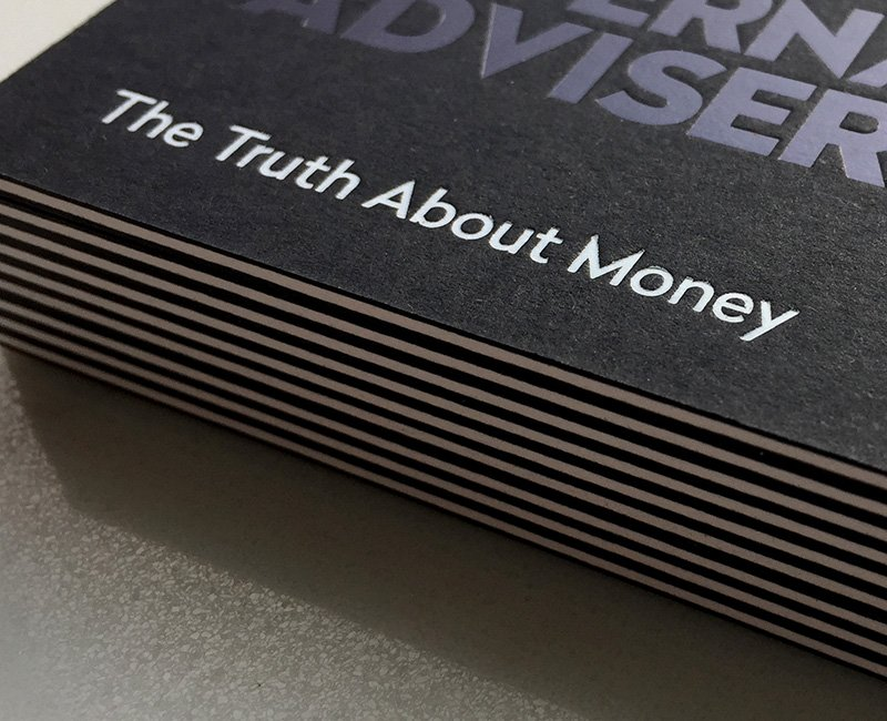 The Alternative Adviser financial services brand design strapline