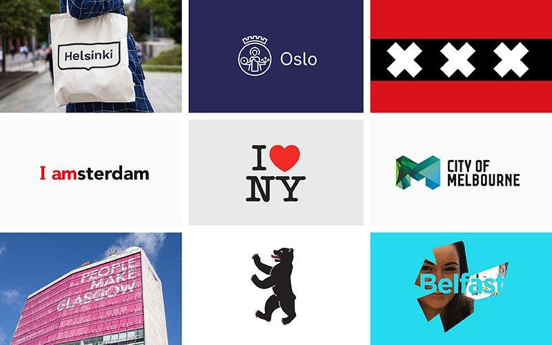 City Branding Logos