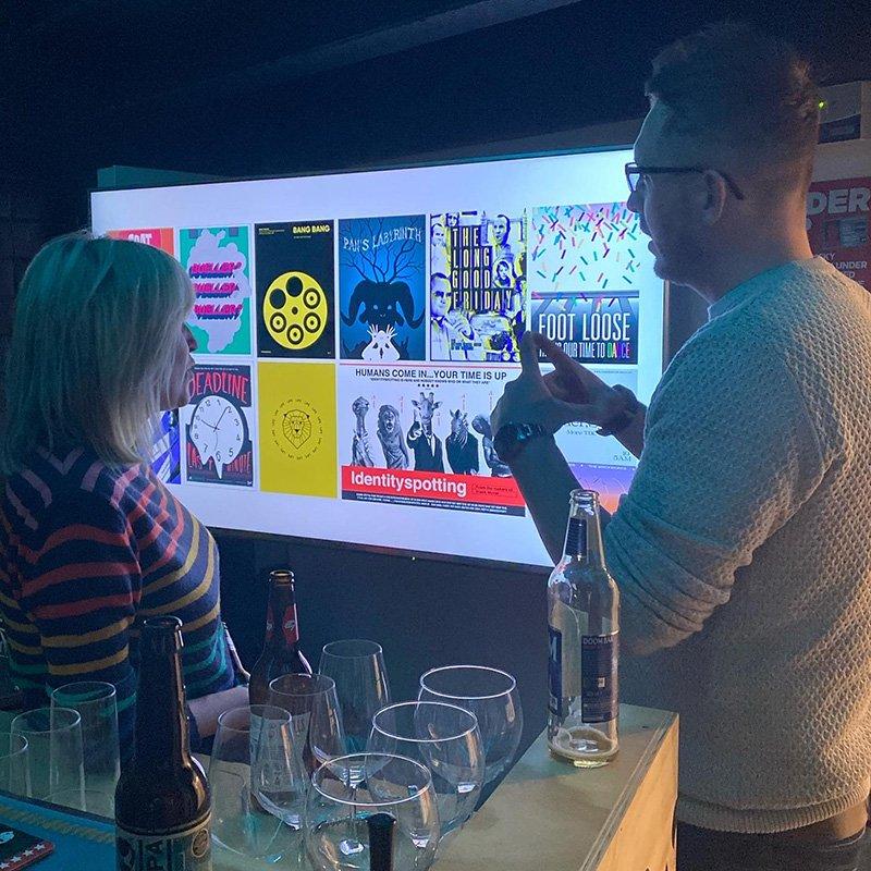 DesignersClub Event at Works Social, Nottingham