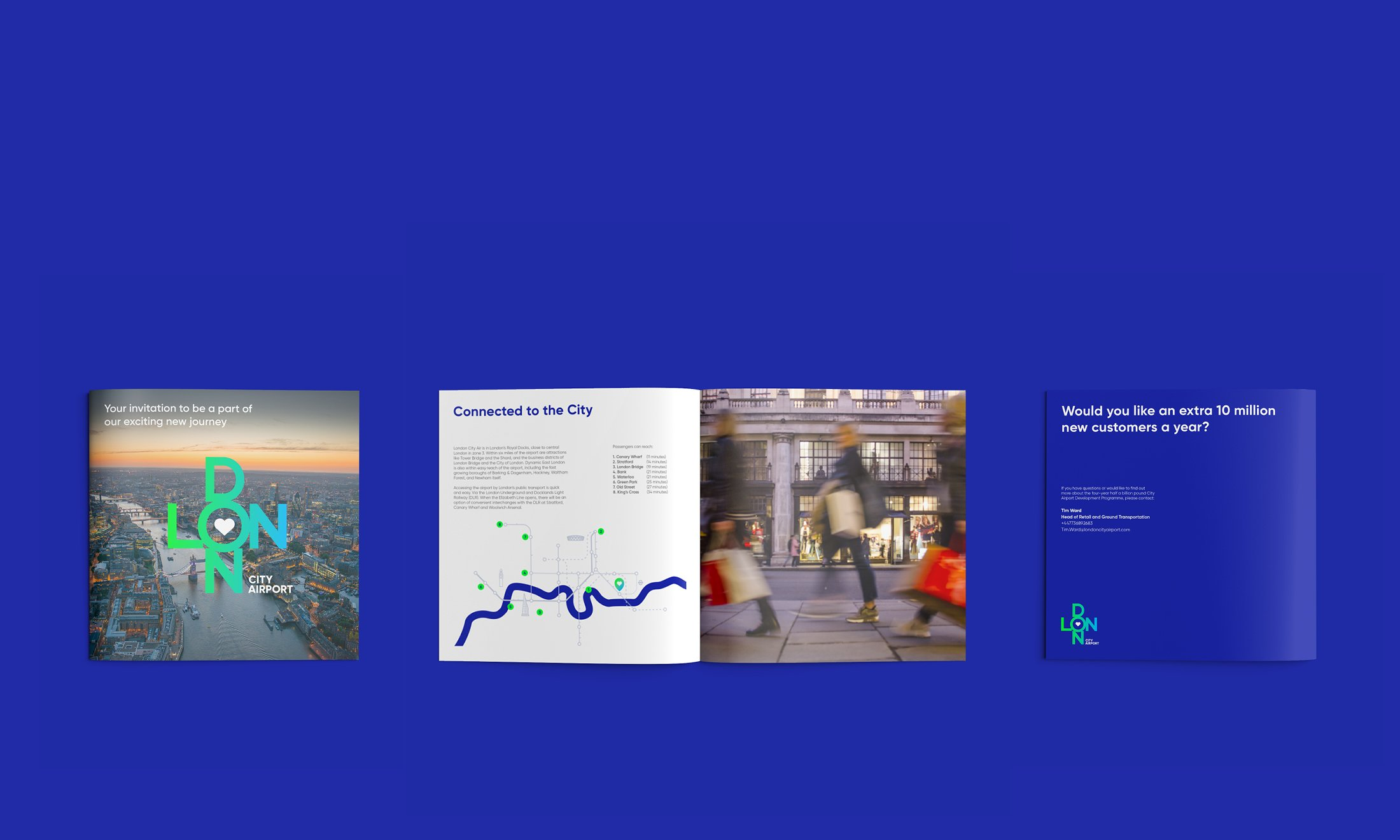 London City Airport B2B Marketing