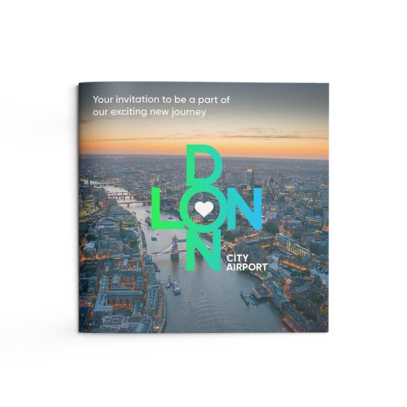 London City Airport B2B Marketing Brochure