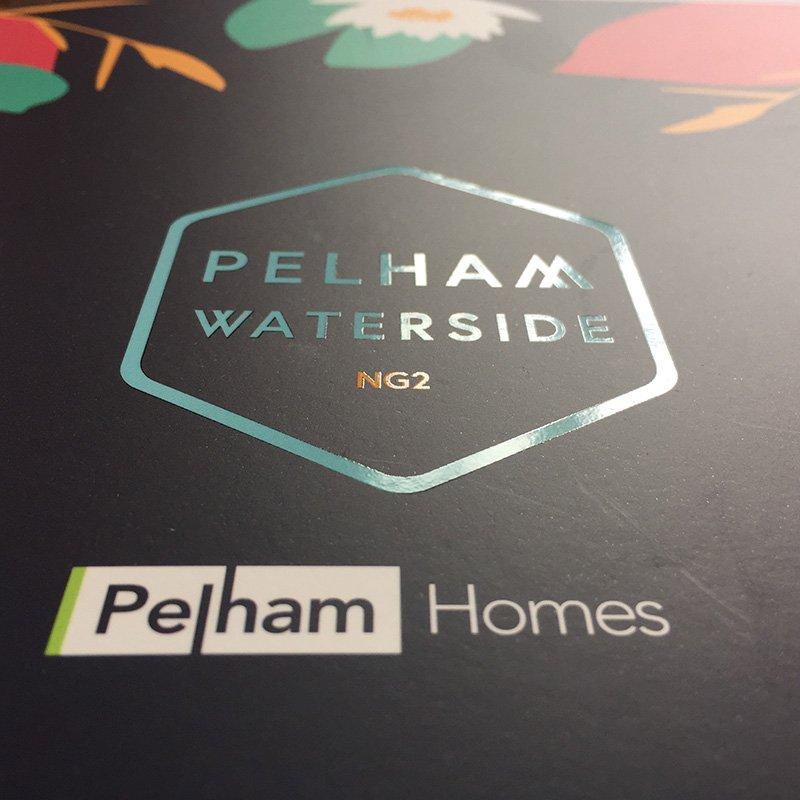 Pelham Waterside Spot Varnish from sales brochure