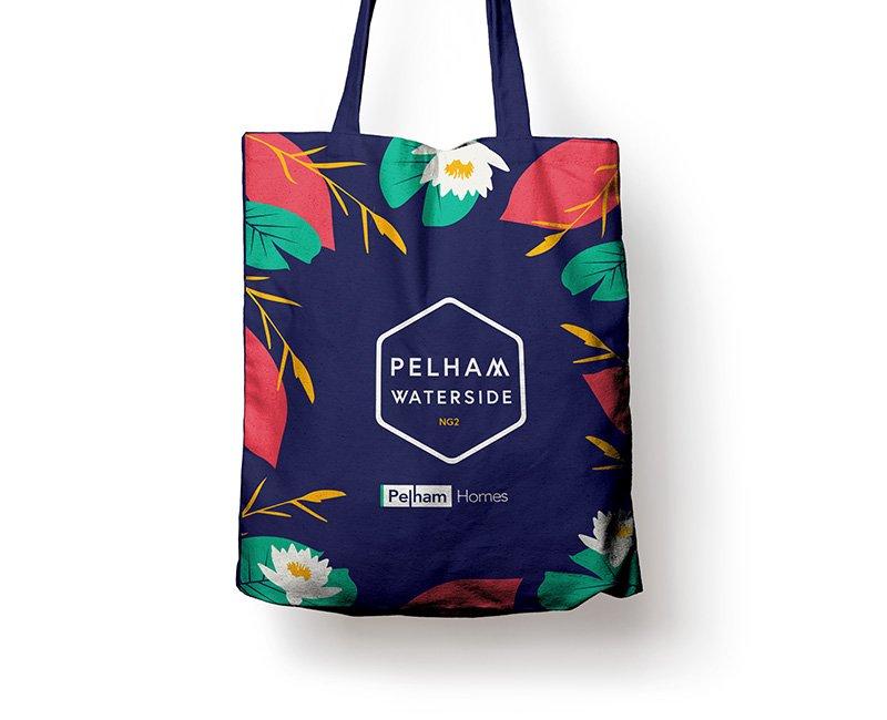 Pelham Waterside Tote Bag from branding design
