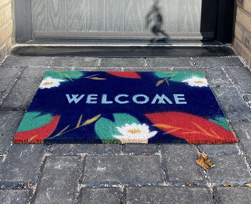 Pelham Waterside Branded Welcome Mat