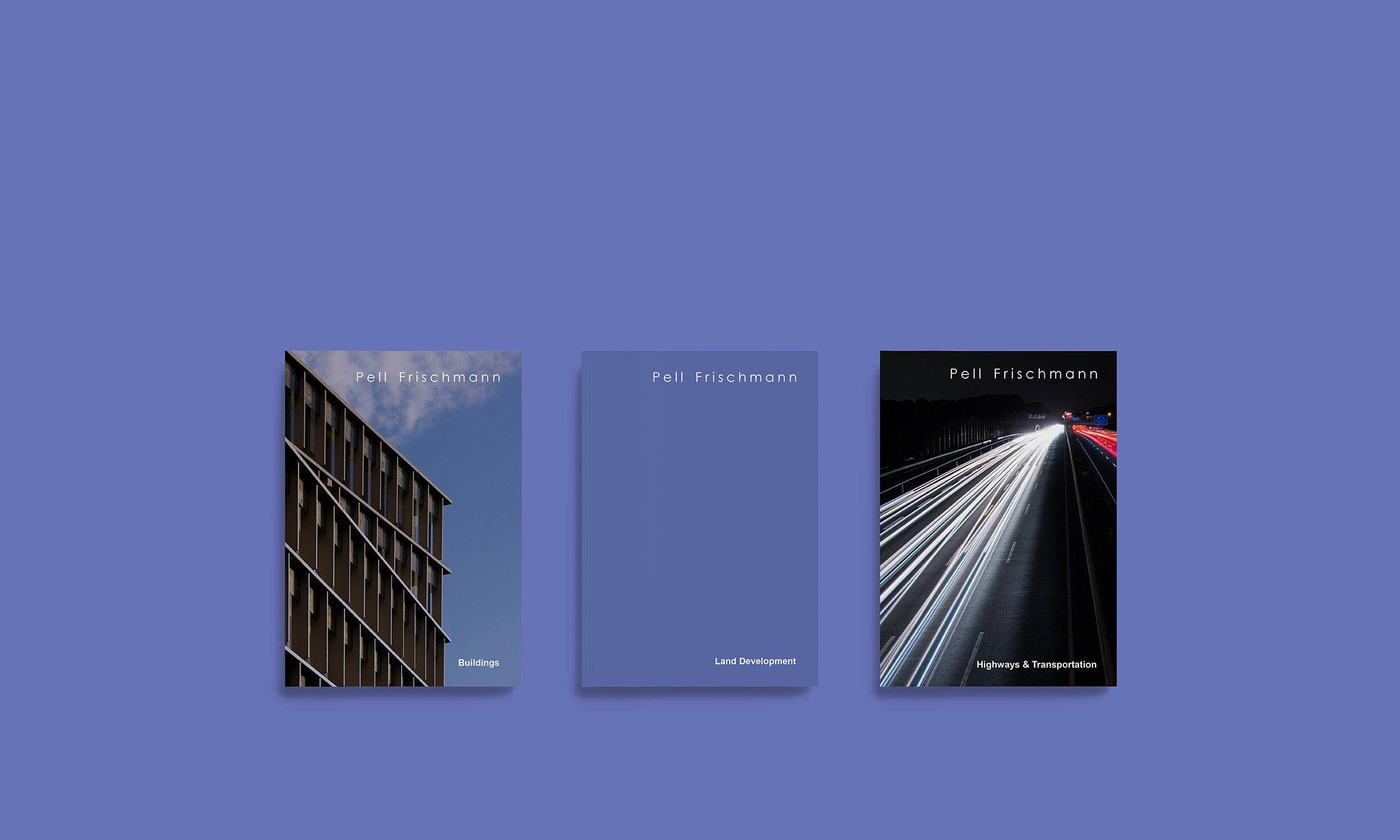 Pell Frischmann Brochure Design