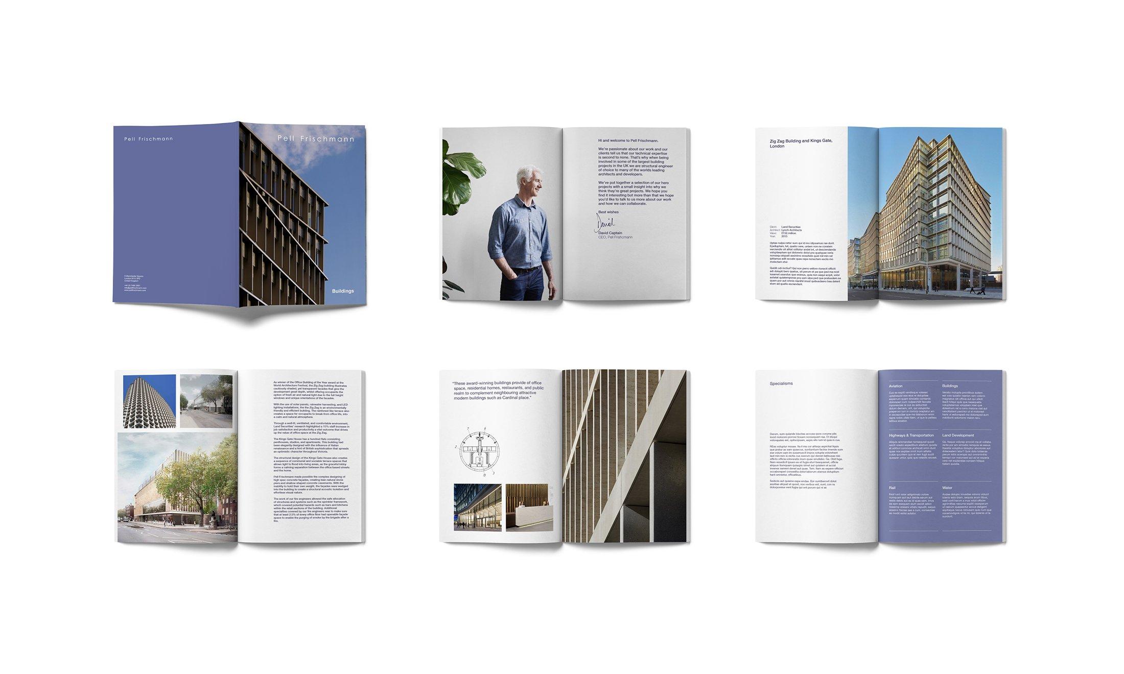Pell Frischmann Marketing Brochure