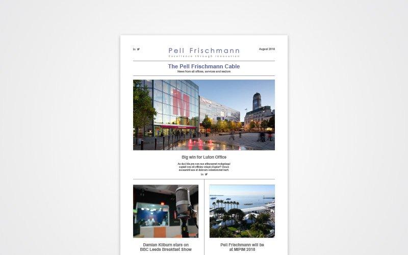 Simpkin Burley Pell Frischmann Digital Newsletter