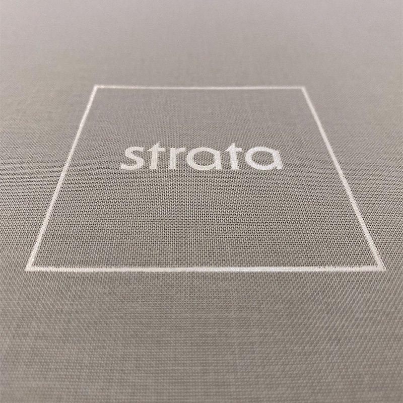 Strata Homes Canvas Presentation Box