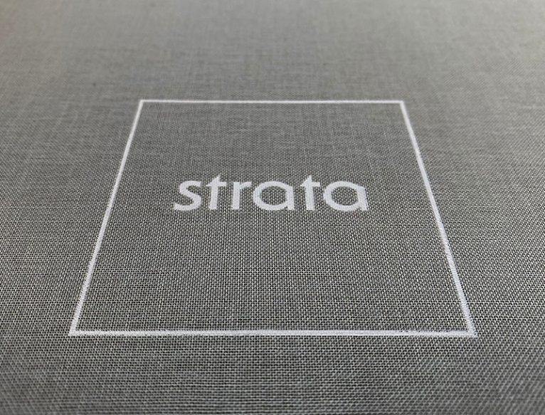 Strata Homes Canvas Presentation Box