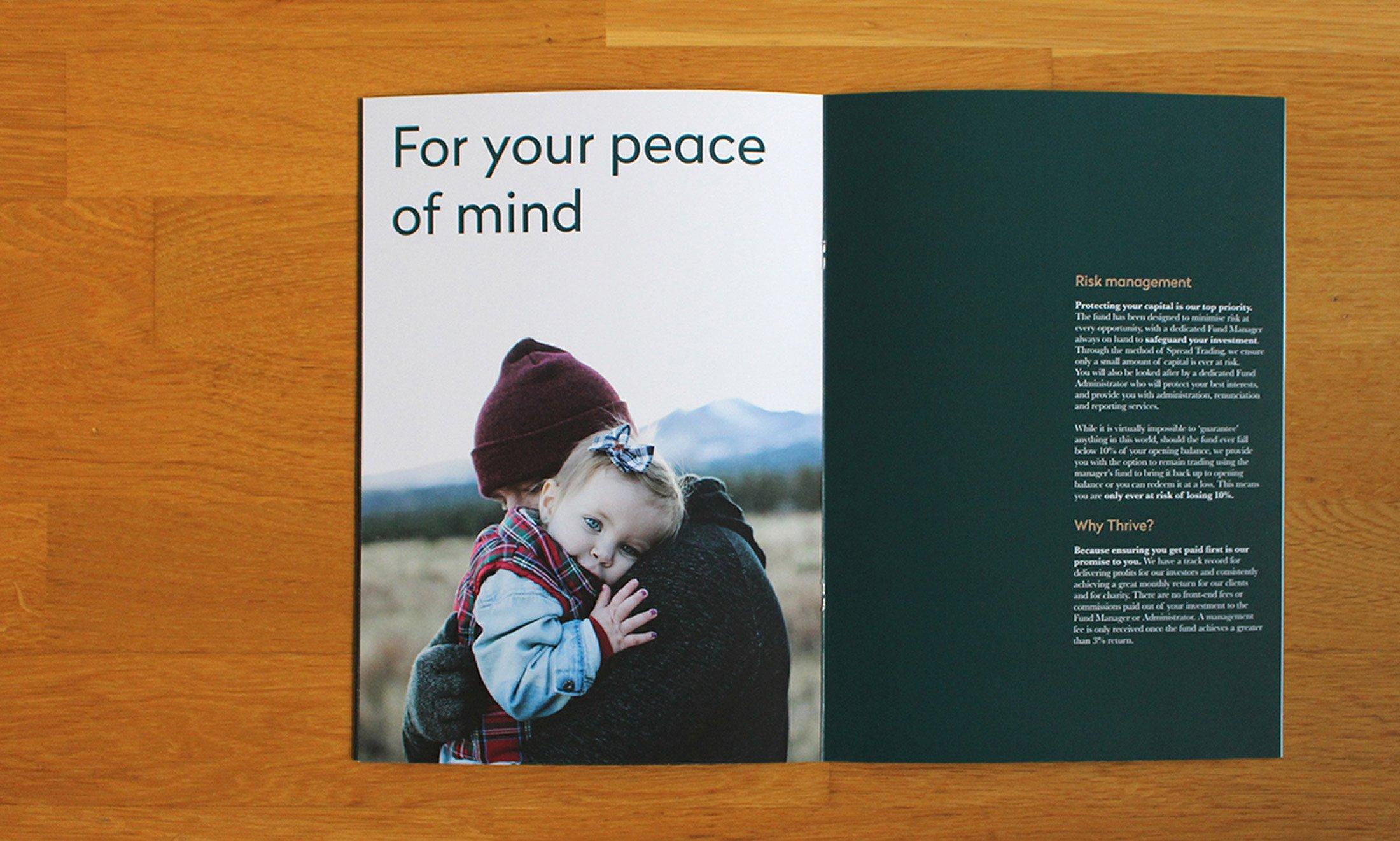 Simpkin Burley Thrive Finance Brochure