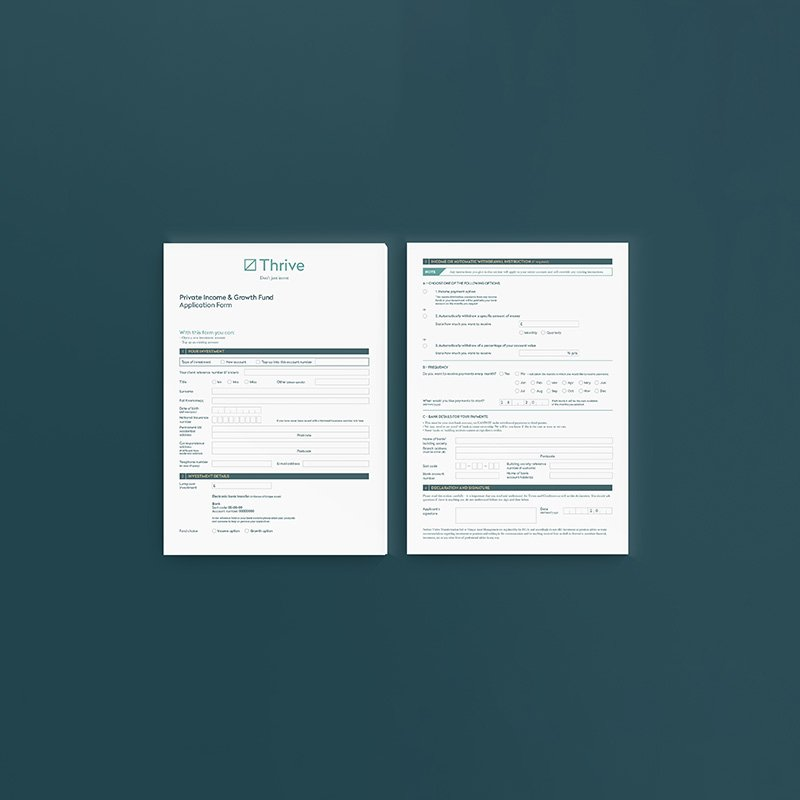Thrive Form Design
