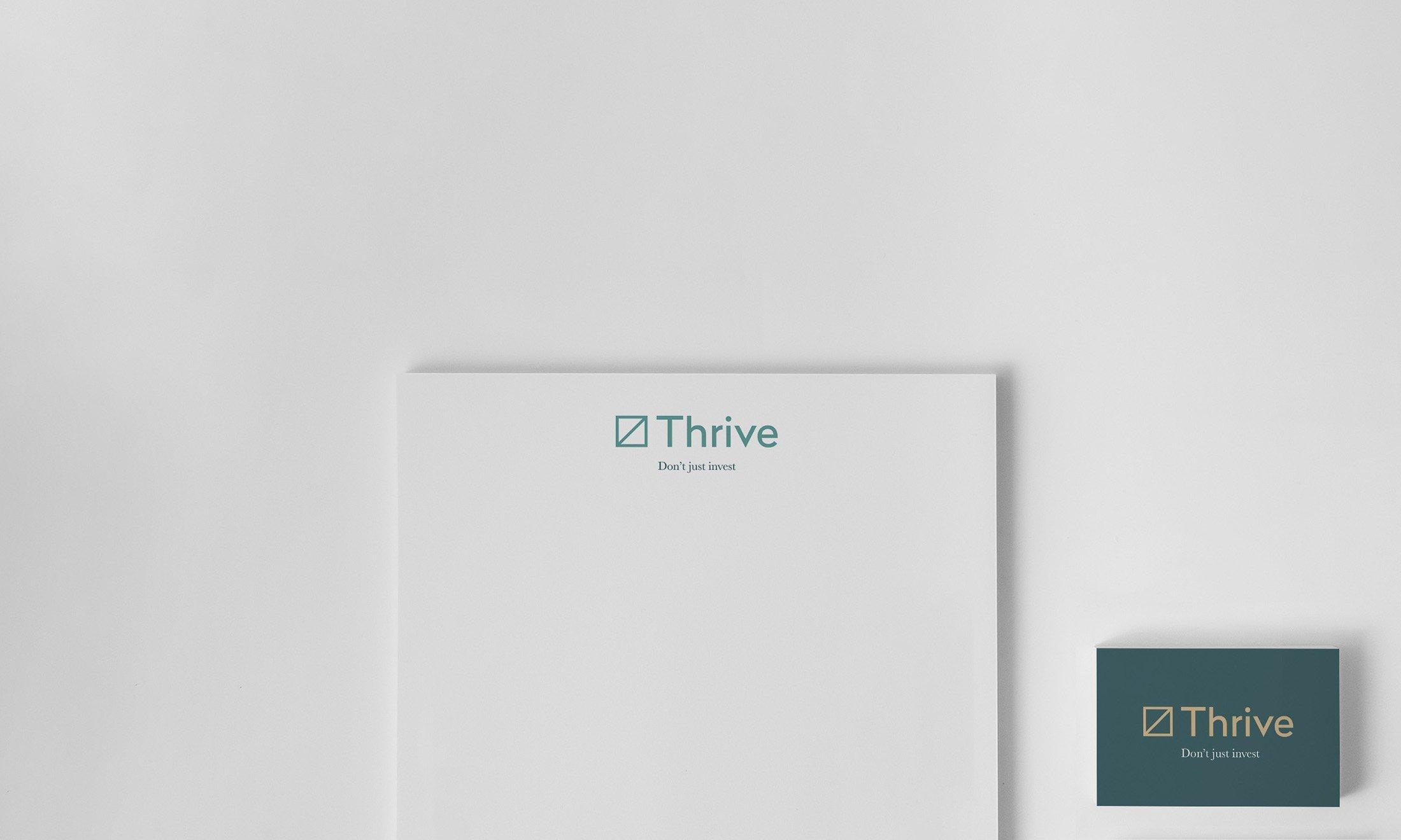 Thrive Brand Identity